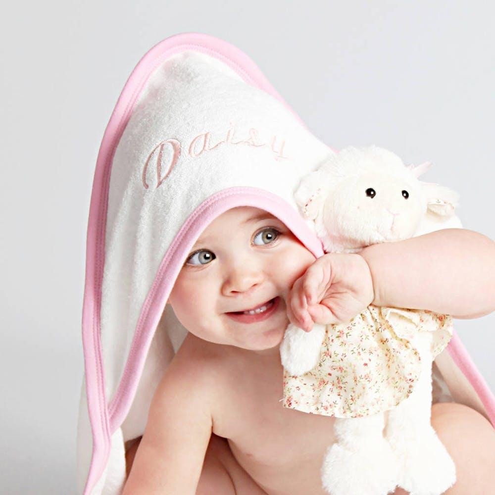 سایت خرید حوله حمامی کلاه دار نوزاد