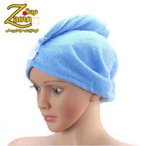 قیمت کلاه حوله ای زنانه با جنس میکروفایبر